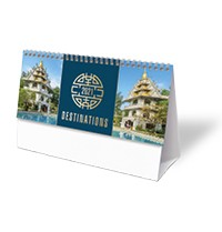 Destinations Desk Calendar