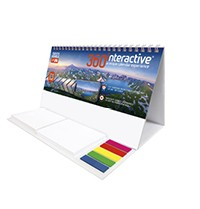360interactive Note Station Desk Calendar
