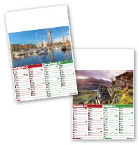 Beauty of Wales Calendar